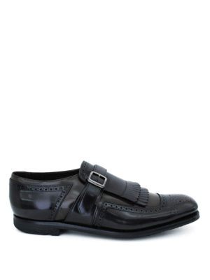 Church's: Loafers & Slippers - Shanghai two-tone leather loafers