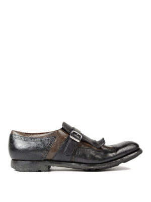 Church's: Loafers & Slippers - Shanghai two-tone leather monkstrap