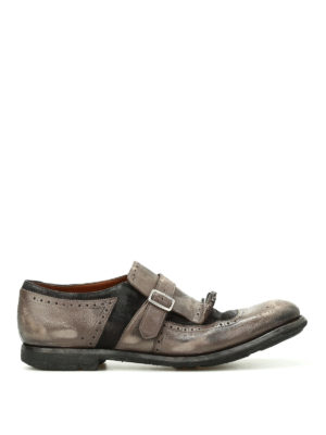 Church's: Loafers & Slippers - Shanghai used leather monk straps
