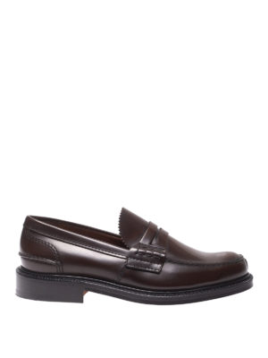 CHURCH'S: Mocassini e slippers - Mocassini Willenhall  bookbinder marroni