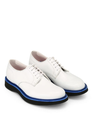 CHURCH'S: scarpe stringate online - Derby Leyton 5 in pelle liscia