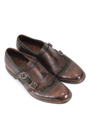 CHURCH'S: Mocassini e slippers online - Mocassini Shanghai pelle e tessuto