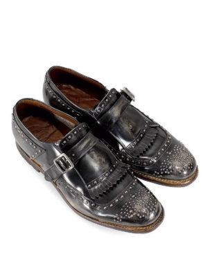 CHURCH'S: Mocassini e slippers online - Mocassini Shanghai in pelle vintage