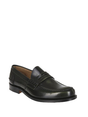 CHURCH'S: Mocassini e slippers online - Mocassini Tunbridge pelle verdone