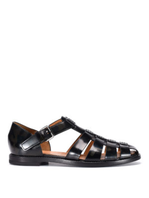 Church's: sandals - Fisherman leather sandals