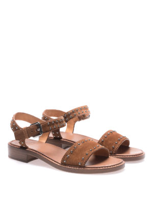 Church's: sandals online - Tiffany tabac suede sandals
