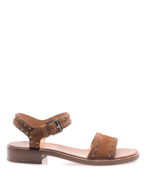 Church's: sandals - Tiffany tabac suede sandals