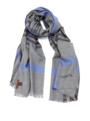 Church's: scarves - Check virgin wool scarf