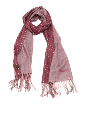 Church's: scarves - Herringbone virgin wool scarf