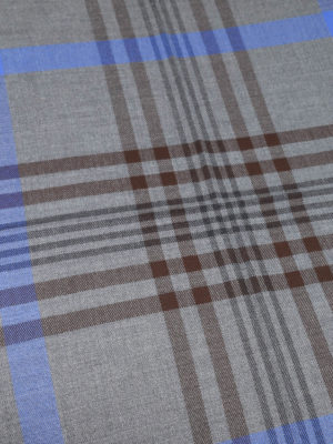 Church's: scarves online - Check virgin wool scarf