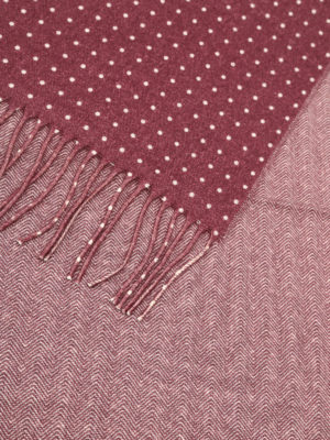 Church's: scarves online - Herringbone virgin wool scarf