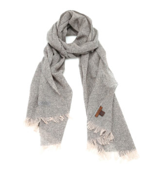 Church's: scarves - Soft cashmere fringed scarf