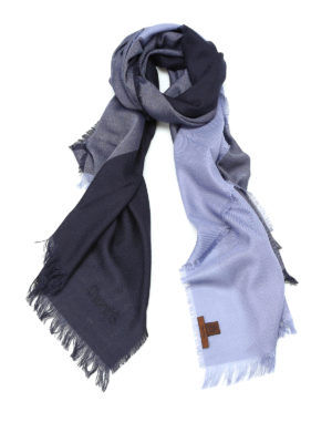 Church's: scarves - Virgin wool fringed scarf