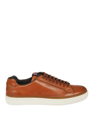 Church's: trainers - Mirfield brogued leather sneakers