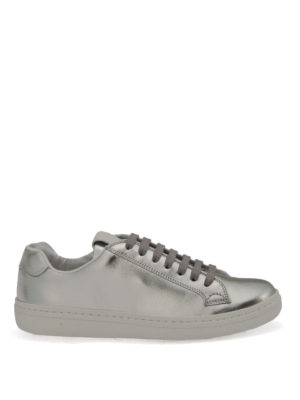 Church's: trainers - Mirfield laminated leather sneakers