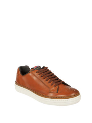 Church's: trainers online - Mirfield brogued leather sneakers