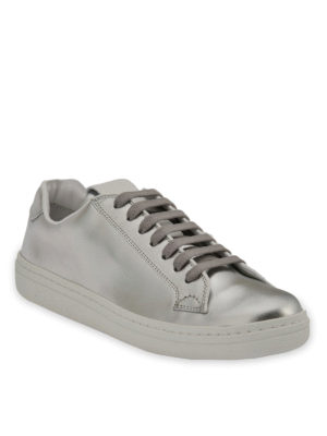 Church's: trainers online - Mirfield laminated leather sneakers