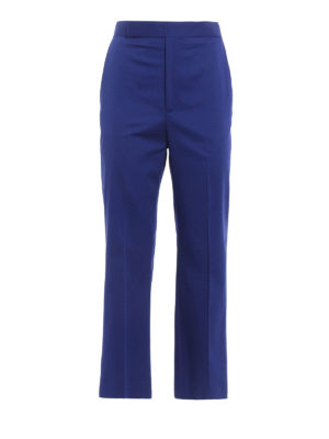 Céline: casual trousers - Cotton chino trousers