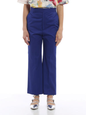 Céline: casual trousers online - Cotton chino trousers