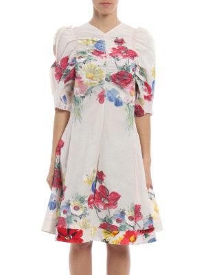 Céline: jumpsuits online - Floral painting gauze jumpsuit