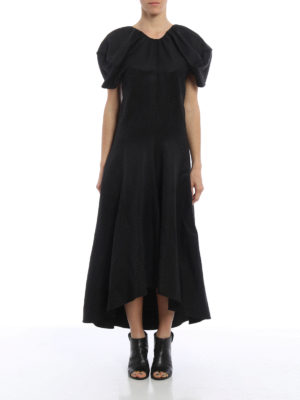 Céline: maxi dresses online - Linen blend flared maxi dress