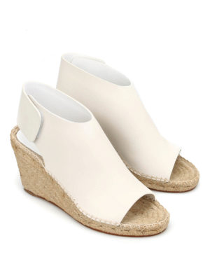 Céline: sandals online - Wedge espadrille sandals