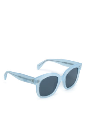 Céline: sunglasses - Light blue sunglasses
