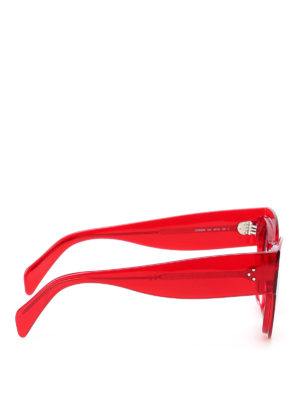 Céline: sunglasses online - Red sunglasses
