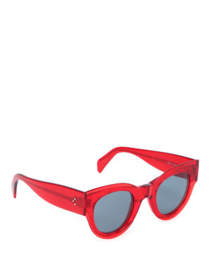 Céline: sunglasses - Red sunglasses