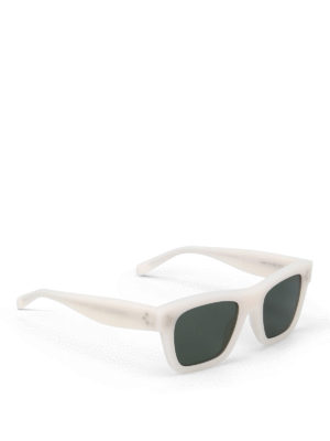 Céline: sunglasses - White sunglasses