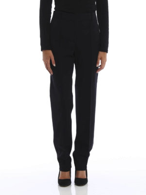 Céline: Tailored & Formal trousers online - Formal wool trousers