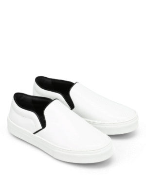 Céline: trainers online - Brushed leather Skate slip-ons