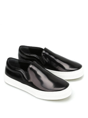 Céline: trainers online - Polished leather Skate slip-ons