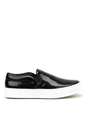 Céline: trainers - Polished leather Skate slip-ons