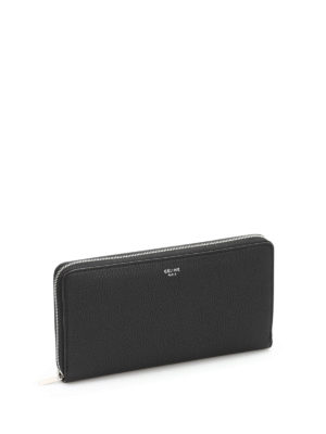 Céline: wallets & purses online - Leather zip around wallet