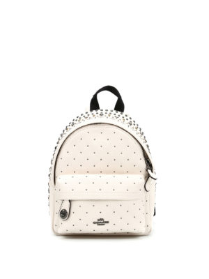 Coach: backpacks - Mini Campus studded backpack