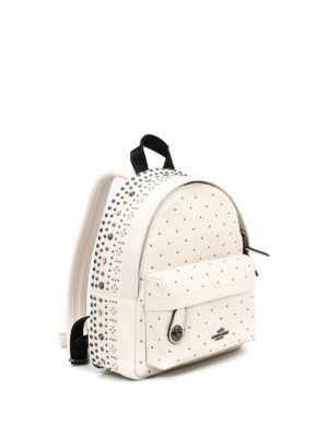Coach: backpacks online - Mini Campus studded backpack