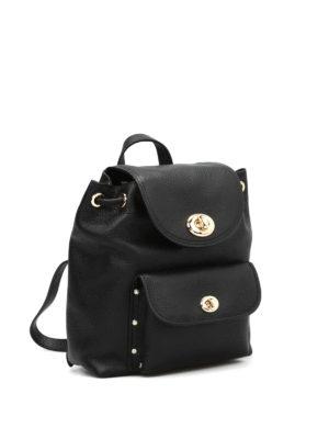 Coach: backpacks online - Mini Turnlock backpack