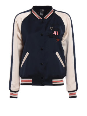Coach: bombers - Reversible college bomber jacket