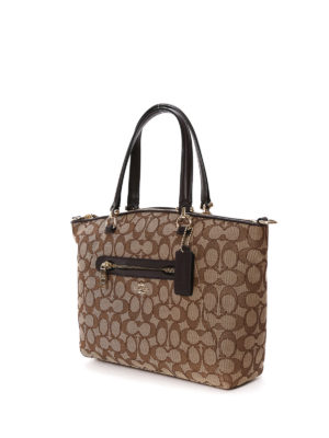 Coach: bowling bags online - Prairie satchel