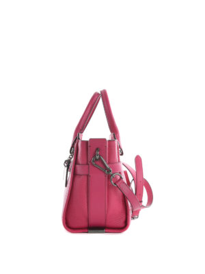 Coach: bowling bags online - Swagger 27 Carryall leather bag