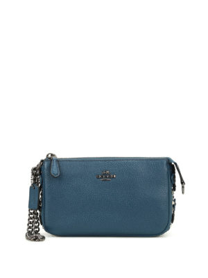 Coach: clutches - Embellished Nolita wristlet clutch
