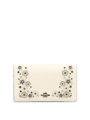 Coach: clutches - Foldover embellished small bag