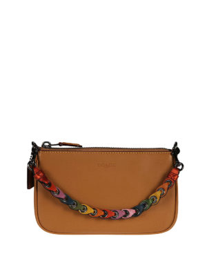 Coach: clutches - Nolita 19 colourful handle pouch