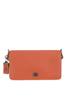 Coach: cross body bags - Dinky tanned leather crossbody