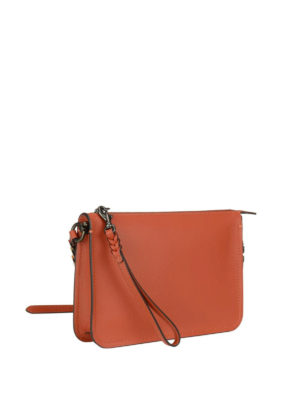 Coach: cross body bags online - Soho tanned leather crossbody