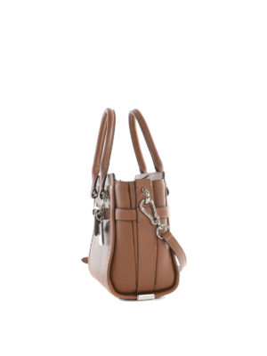 Coach: cross body bags online - Swagger 21 leather crossbody