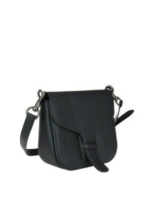 Coach: cross body bags online - Tanned leather saddle bag