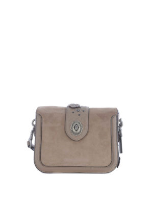 Coach: cross body bags - Page embossed Tea Rose bag