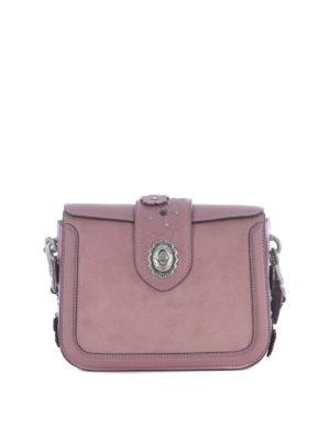 Coach: cross body bags - Page embossed Tea Rose crossbody